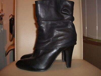 Belmondo Damen Leder Stiefel Stiefeletten Größe 38 Schwarz *Neu*   eBay