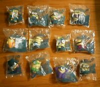 Lot Of 12 2015 Mcdonald's Happy Meal Toy Minions - 5 What The Fuc Caveman