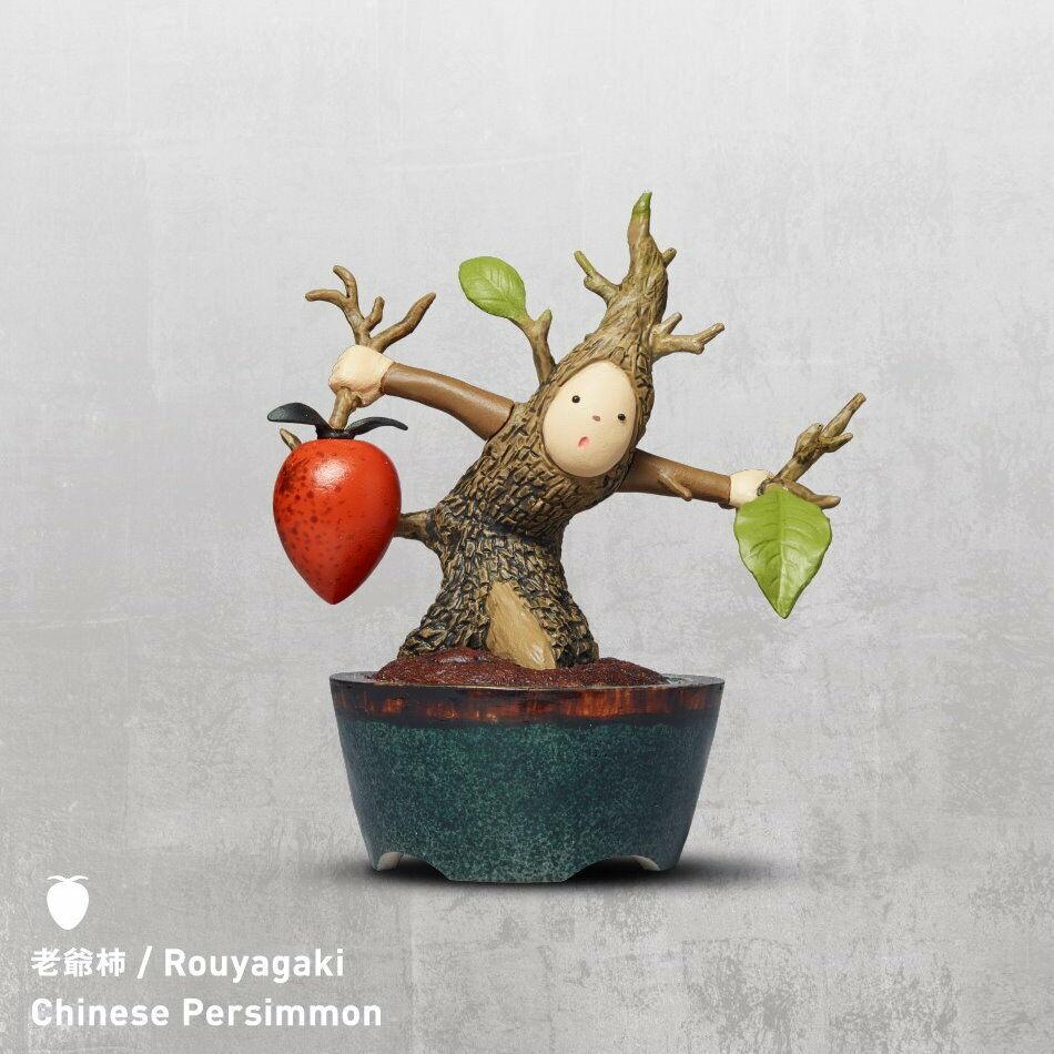 Takara Tomy Panda/'s ana Bon-no 盆惱 Gacha Toy Part2 Completed Set 4pcs
