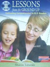 NEW Teacher Reading Comprehension Lessons K-3 DVD Set By Sharon Taberski SEALED