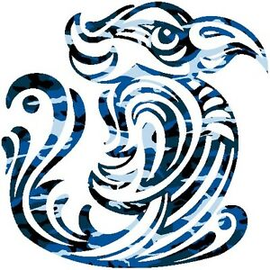 30-Custom-Blue-Camo-Bird-Personalized-Address-Labels