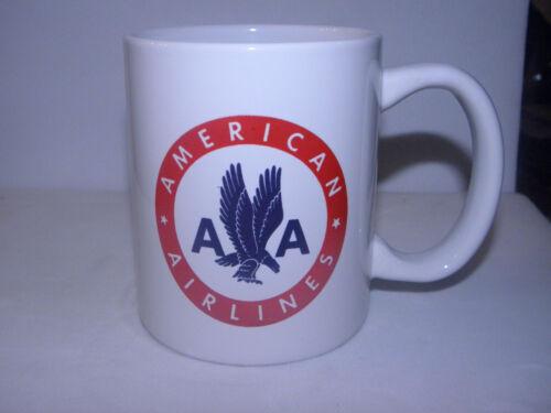 AMERICAN AIRLINES COFFEE CUP MUG US AIRWAYS AIRPLANE PILOT CHRISTMAS GIFT