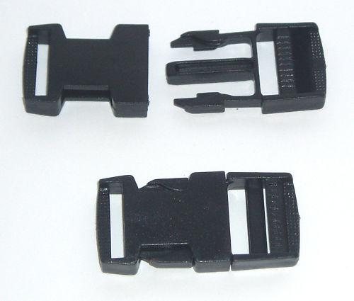 plastique rapide côté sortie boucle pour TOILE JUSQUE 25mm Sangle Sac ceinture