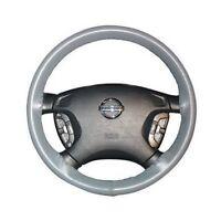 Grey Leather Steering Wheel Cover For Hyundai Sonata 2015 2016 2017 14 1/2x4 3/8