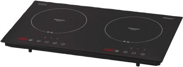 3100 W schwarz Steba Doppel-Induktionskochplatte IK 300 S.C