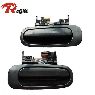 New Outside Door Handle Front Right Passenger Black Fit For toyota corolla 98-02