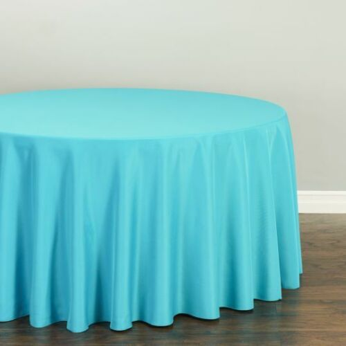 120 in 1//10 Pack Wedding Party Event Round Polyester Tablecloth 33 Colors!