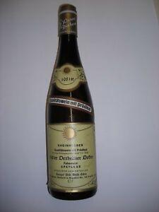 Âge De Vin Blanc, Oiseau Rare De 1981-dexheimer Docteur-faberrebe Spätlese-afficher Le Titre D'origine Performance Fiable
