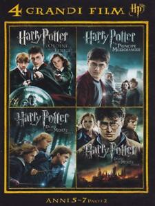 DVD-4-GRANDI-FILM-HARRY-POTTER-COFANETTO-4-FILM-ANNI-5-7-ITALIANO-SIGILLATO