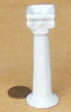 1:12 ceramica Azzurra Pilastro piedistallo Casa delle Bambole Accessorio da giardino in miniatura