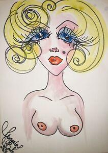Margarita-Bonke-Malerei-PAINTING-Zeichnung-Erotik-erotica-Marilyn-Monroe-Art-Akt