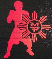 Manny Pacquiao Philippine Sun Stars Pinoy Sticker Vinyl Decal Filipino Pride