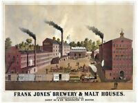 6197.frank Jones Brewery And Malt Houses.portsmouth Nh.poster.home Office Art