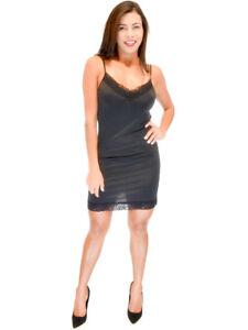 Vivian-039-s-Fashions-Slip-Dress-Lace-Details-Nightwear-Misses-and-Misses-Plus