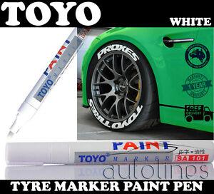 Tyre Paint Pen White