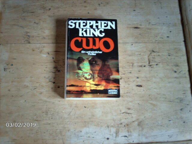 Buch von STEPHEN KING CUJO Horror-Romane