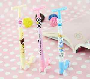 1-3pc-Cute-Novelty-Scooter-Ballpoint-Gel-Pens-Toy-Kids-Party-Gift-Bag-Fillers