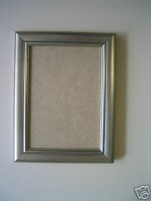 Silver 5x4 Picture Frame All Sizes and Styles of Frames | eBay