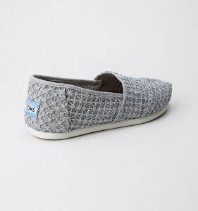 cdbbbe601a8f Image is loading TOMS-Women-039-s-Classic-10009728-Shoes-Silver-