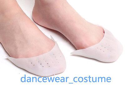 PROFI-Silikon ZEHENSCHONER f. Ballett Spitzenschuhe 1Paar Soft Gel Toe Pads Neu