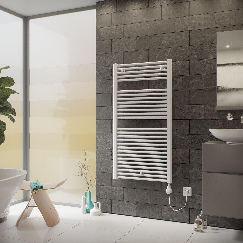Elektro Badheizkörper Handtuchheizkörper elektrisch XIMAX Tip inkl.Heizpatrone