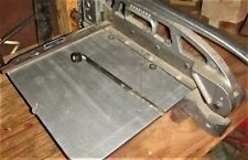 Industrial Metal Engraving Plate Guillotine Cutter For Trophies Plaques Amp Awards