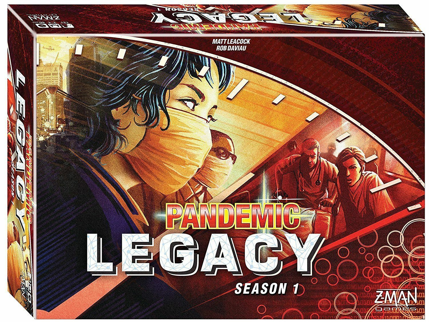 Pandemic Legacy Board Game, rosso Season 1