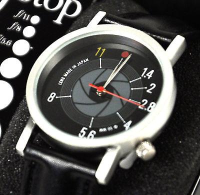 F Stop Watch - Retro SLR Camera Wristwatch
