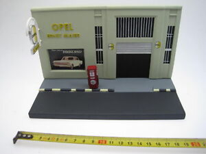 Diorama-Opel-Garage-Gas-Station-Taller-Gasolina-Eagle-Moss-1-43-cochesaescala