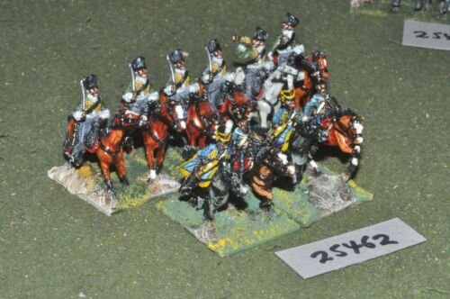 25mm napoleonic prussian mixed 10 figs painted by mac warren cav 25462