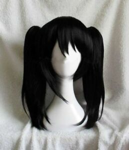 Oujf10567 Fine Short Black Bangs Style Women Wig Health Hair Wigs