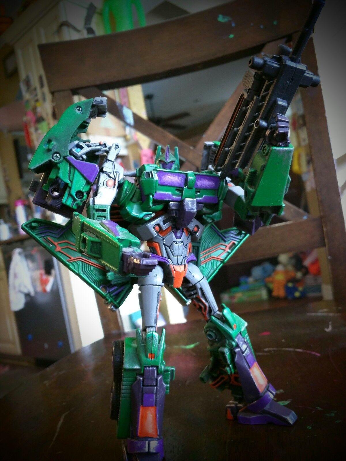 Custom Transformers - Custom Painted Voyager Energon Optimus Prime