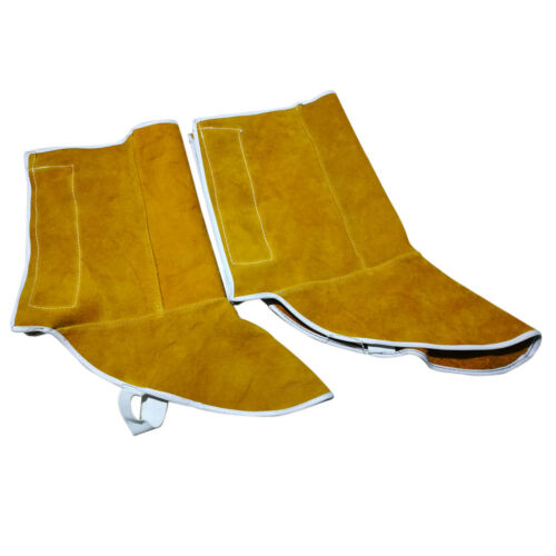 1 Pair Welding Shoes Cover Gear Protect Welder Shoes Flame Resistant Orange