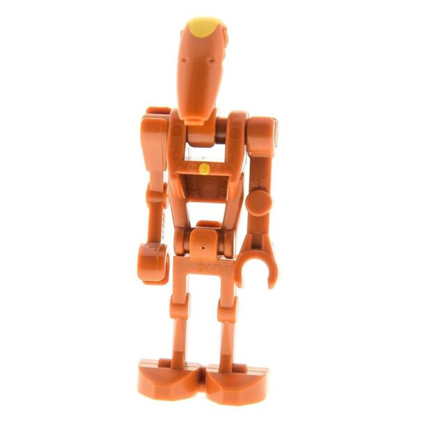 New Star Wars Lego Minifigure BATTLE DROID COMMANDER from set 75019