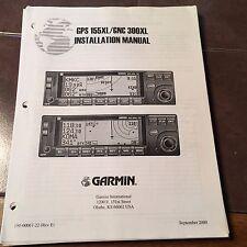 Garmin GPS-155XL & GNC-300XL install manual