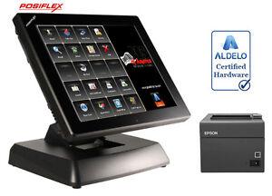 Posiflex XT3915 Restaurant Bakery Bar POS System with Aldelo PRO ...