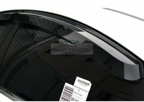 Out-Channel Vent Shade Window Visors Rain Guards for KIA 2011-2016 Sportage R