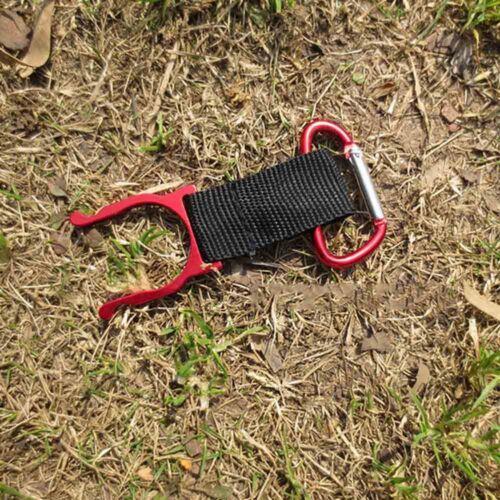10PcsHiking Carabiner Camping Survival Tool Water Bottle Buckle Hook Holder Clip