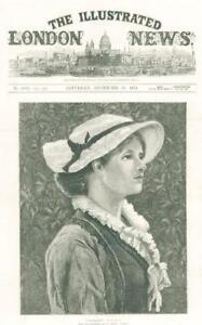 1874-FINE-ART-Antique-Print-Maidenhood-William-Wise-Dudley-Gallery-135