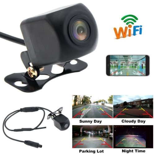 150° WiFi Wireless Car Rear View Cam Backup Reverse Camera For iPhone Android