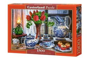 Castorland 1500 Piece Jigsaw Puzzle Still Life with Tulips