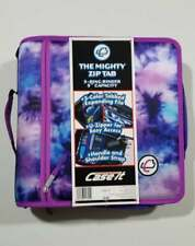 The Mighty Zip Tab 3 Ring Binder 3 Capacity By Case It Purple