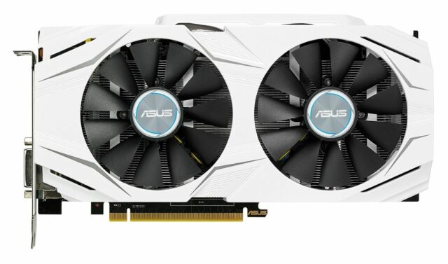 ASUS GeForce GTX 1060 Dual OC 3gb Computer Gaming Graphics Video Card Cards