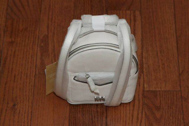 538b4f9e6574 NWT Michael Kors $228 Jessa Mini XS Convertible Backpack Handbag White