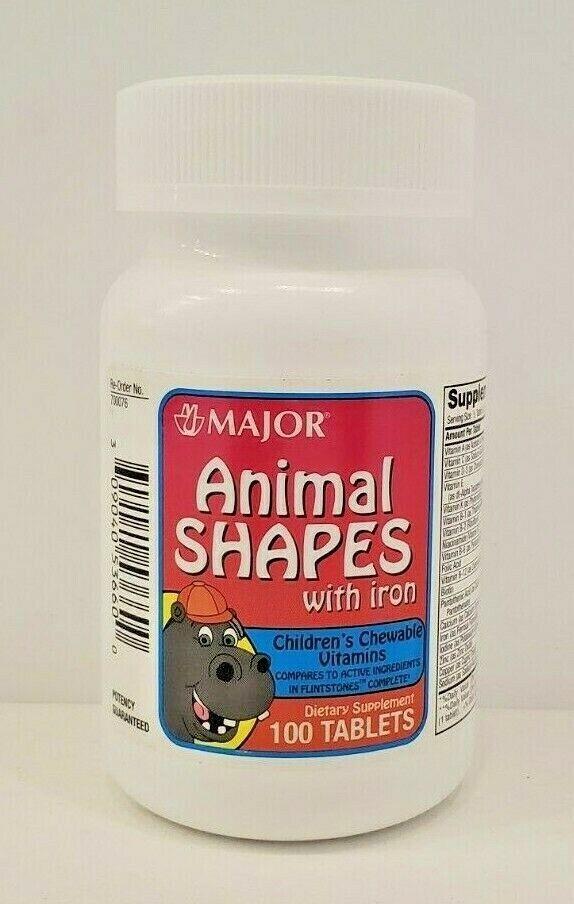 Best Children\'S Vitamins 2020 Ondra Pharmaceutical Multiple Vitamin With Iron 100 Count Exp 11