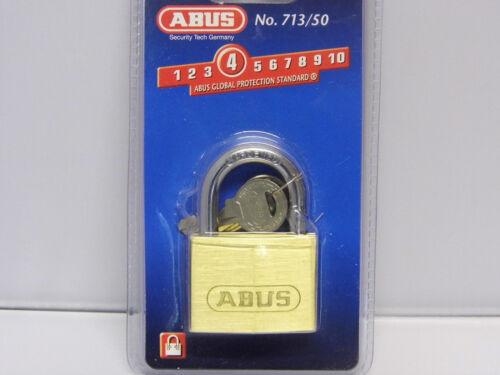 Abus 55//50 Messing 46mm Vorhängeschloss 1000-489