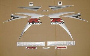 GSX-R 750 2007 full decals stickers graphics kit set k7 motor pegatinas adhesivi