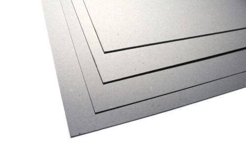 A4 /& A3 Extra Thick Greyboard Crafting Card 750micron 500gsm