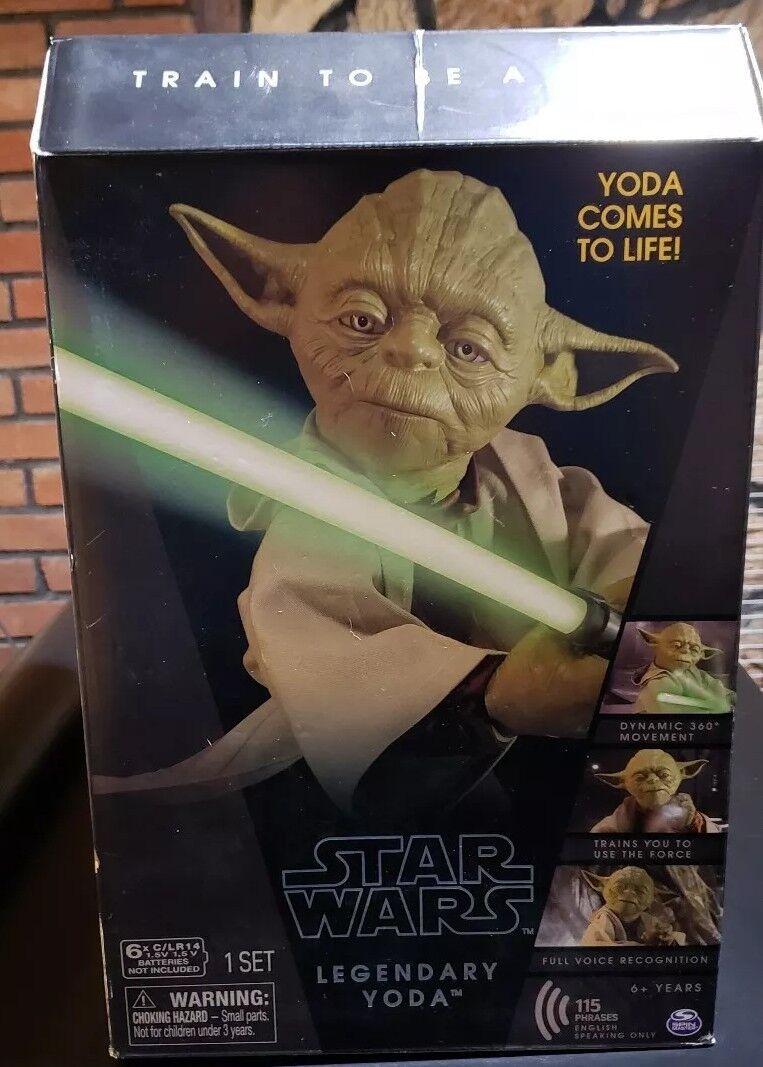 estrella guerras Legendary Jedi Master Yoda Collector scatola edizione nuovo Sealed