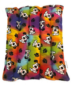 Rainbow Dog Back Size Pick a Scent Ricepack Microwaveable Hot Cold Pack Pad
